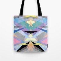 origami Tote Bags featuring Origami by Marta Olga Klara