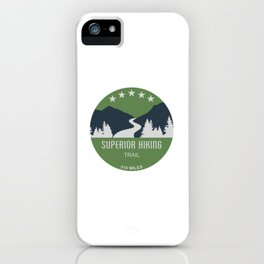 Superior Hiking Trail iPhone Case