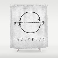 inception Shower Curtains featuring Inception by Tony Vazquez