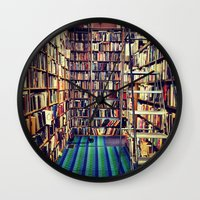 books Wall Clocks featuring Books by Whitney Retter