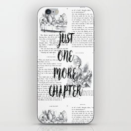 One More Chapter iPhone Skin