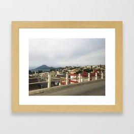Guate City Framed Art Print
