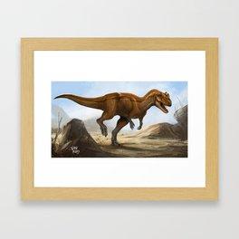 ceratosaurus Framed Art Print
