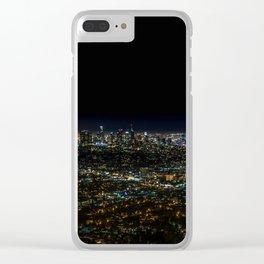 d t l a Clear iPhone Case