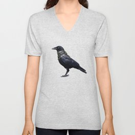 Raven Band Unisex V-Neck