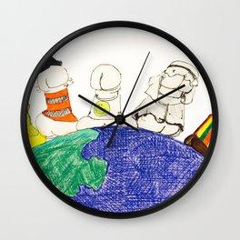 Multi-Cultural Dicks (Part 2) Wall Clock