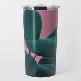 Ficus Elastica #11 #WildRose #decor #art #society6 Travel Mug