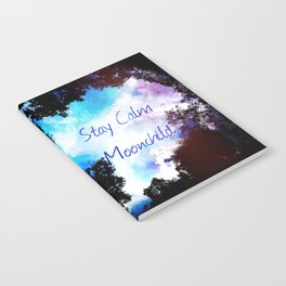 Stay Calm Moonchild Notebook