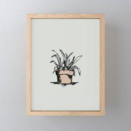 """Teacher's Plant"" from Grow Collection Framed Mini Art Print"