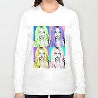 britney Long Sleeve T-shirts featuring BRITNEY POP by Lovejonny