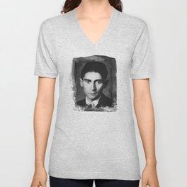 Franz Kafka Unisex V-Neck