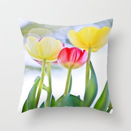 Cheerful Thoughts Throw Pillow