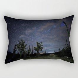 Stars over the desert Rectangular Pillow