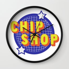 Chip Shop Wall Clock