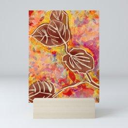 Leaf By Design Mini Art Print