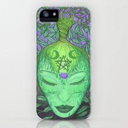 Earth Goddess Tree of Life iPhone Case