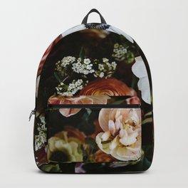 Spring Floral Collage Backpack