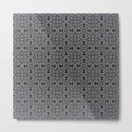 Sharkskin Geometric Pattern Metal Print