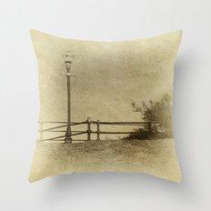 Light of Yester-Year Throw Pillow