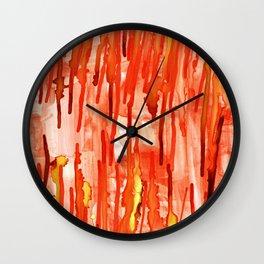 Coral Cavern Wall Clock