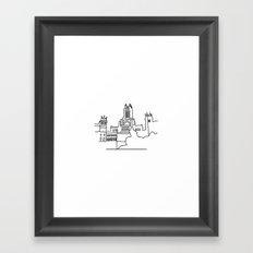 Madrid Framed Art Print