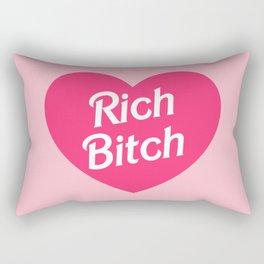 Rich Bitch Rectangular Pillow