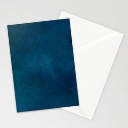 Blue-Gray Velvet Stationery Cards