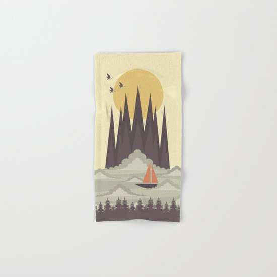 Over the Clouds Hand & Bath Towel