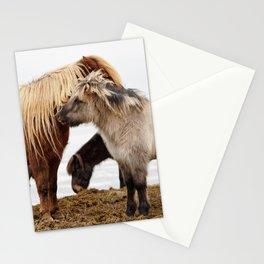 Iceland horses Stationery Cards