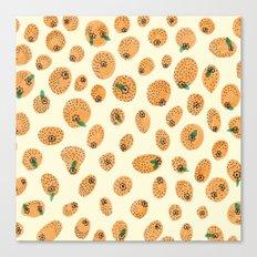 Orange range Canvas Print