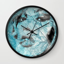 pieces of glass Wall Clock