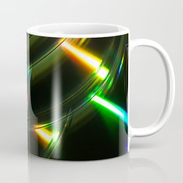 Stack of Compact Discs Abstract 6 Coffee Mug