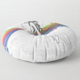 I Am Colour Floor Pillow