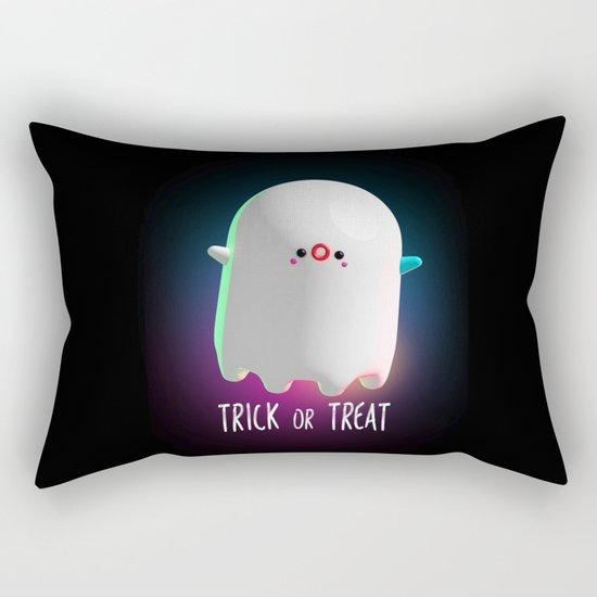 Spooky Ghost Rectangular Pillow
