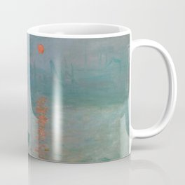 Monet - Impression, Sunrise, 1872 Coffee Mug