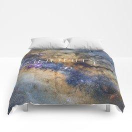 Milky way. Infinity. Scorpius and Sagittarius. Comforters