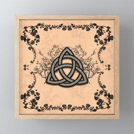 The celtic knot Framed Mini Art Print