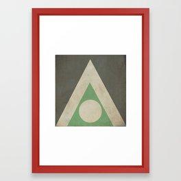 Apfel meines auges Framed Art Print