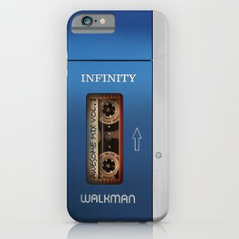 Awesome Walkman Vol.1 iPhone Case