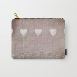 Lost love hearts in antique style Carry-All Pouch