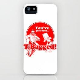 T BAG - MR. T PARODY iPhone Case