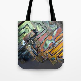 Colorful Geometric Shapes Tote Bag