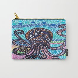 Funky Octopus  Carry-All Pouch