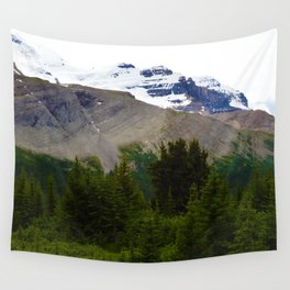 Views along the Wilcox Pass Hike in Jasper National Park, Canada Wall Tapestry