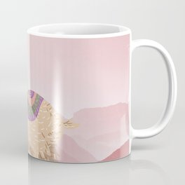 Llama Land Sunset Coffee Mug