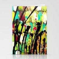 ruben ireland Stationery Cards featuring Ruben by Del Otero Art