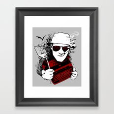 We Can't Stop Here... Framed Art Print