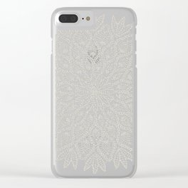 Delicate - Silver Clear iPhone Case