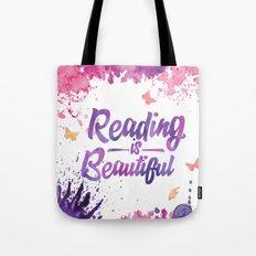 Reading is Beautiful - Splash Tote Bag