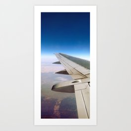 Flying Panorama 1 Art Print